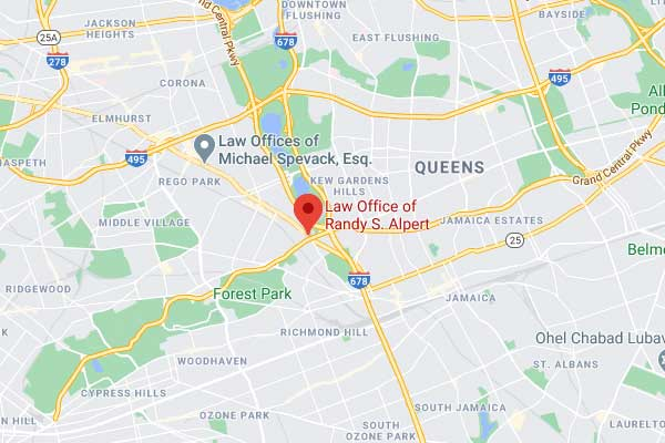Queens Office Map